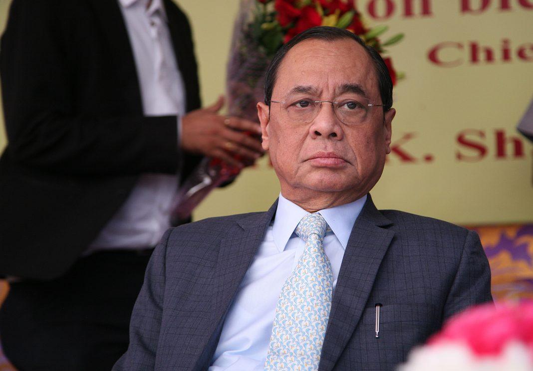 Chief Justice of India Ranjan Gogoi