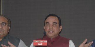 Subramanian Swamy/Photo: UNI