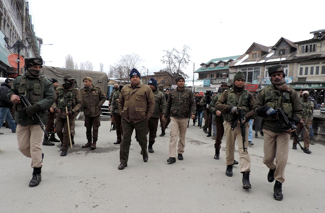 epresentative picture of J&K police