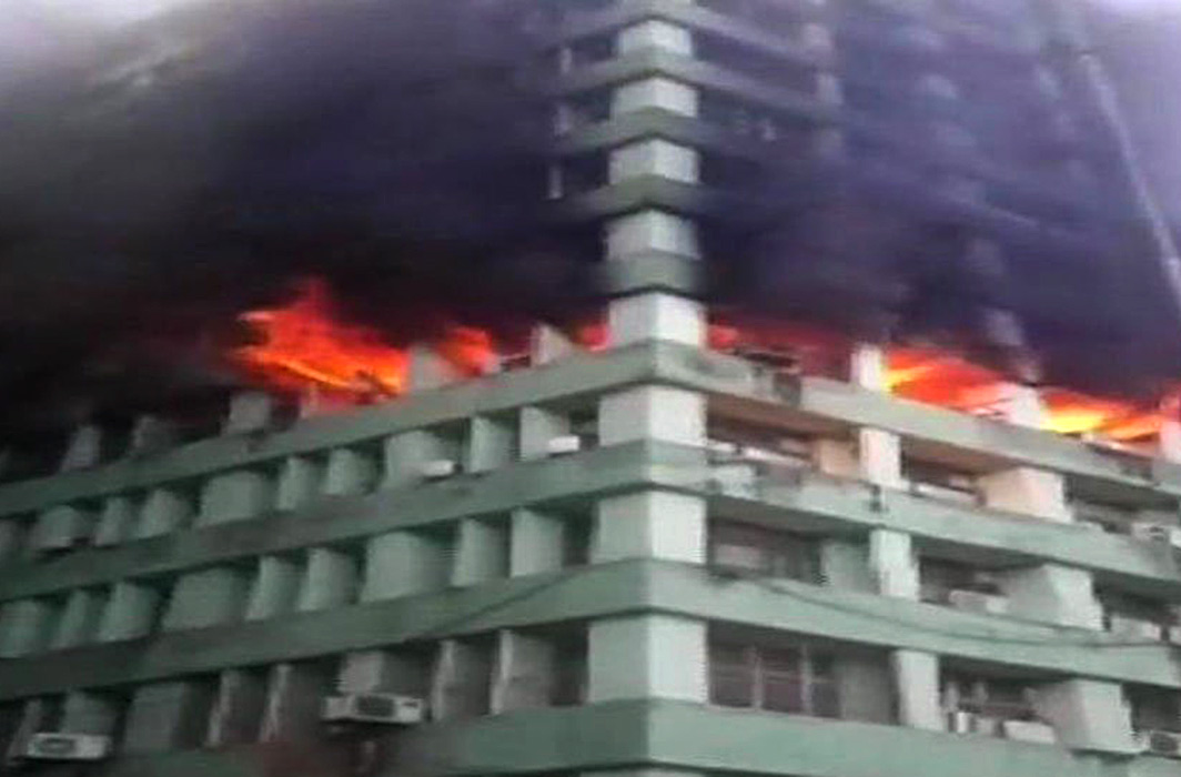 Fire In Govt Buildings Brings NCLAT Work To Halt
