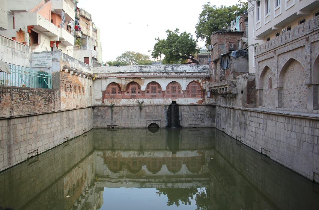 The baoli or stepwell located within the Nizamuddin Dargah complex/ Photo: Bhavana Gaur