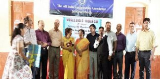 Members of the All-India Anglo Indian Association, Jabalpur branch, at a meeting/Photo: cherylltucker.wordpress.com