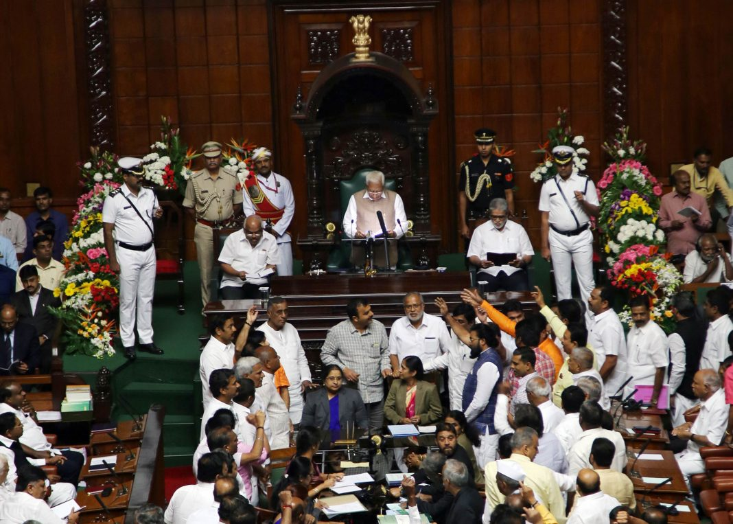 The audio tape scandal has rocked the Karnataka Assembly/Photo: UNI