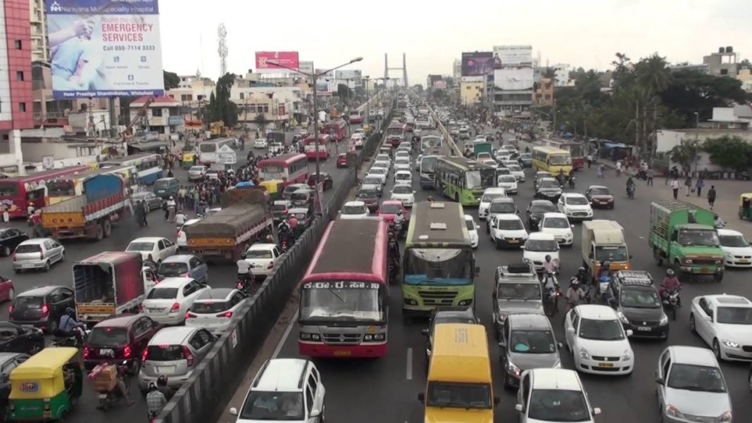 The PRR project will decongest traffic and reduce air pollution in Bengaluru/Photo: Youtube