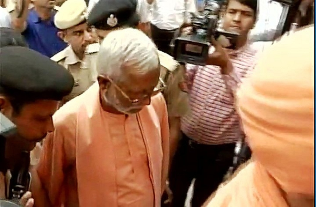 Swami Aseemanand (file pic)/Photo: ANI