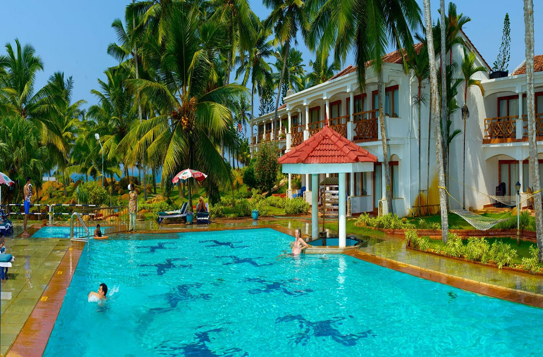 The swimming pool of the KTDC-run Hotel Samudra where a guest drowned/Photo: ktdc.com