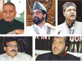 The five separatist leaders—Abdul Gani Bhat, Mirwaiz Umar Farooq, Bilal Lone, Shabir Shah and Hashim Qureshi—whose security was withdrawn three days after the Pulwama killings