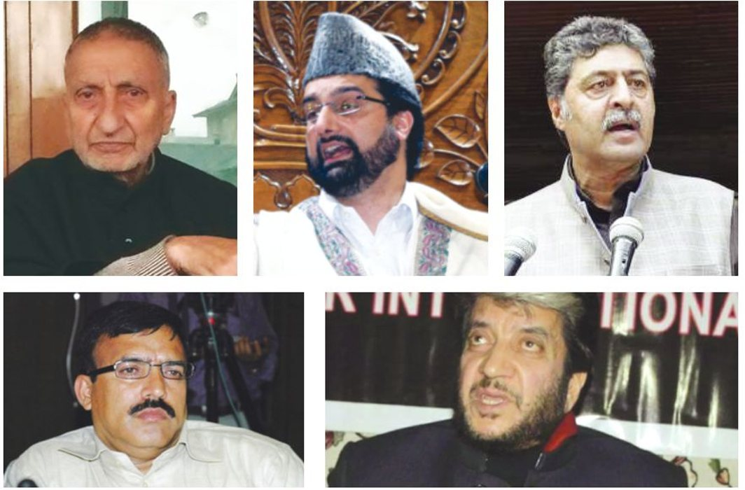 The five separatist leaders—Abdul Gani Bhat, Mirwaiz Umar Farooq, Bilal Lone, Shabir Shah and  Hashim Qureshi—whose security was withdrawn three days after the Pulwama killings