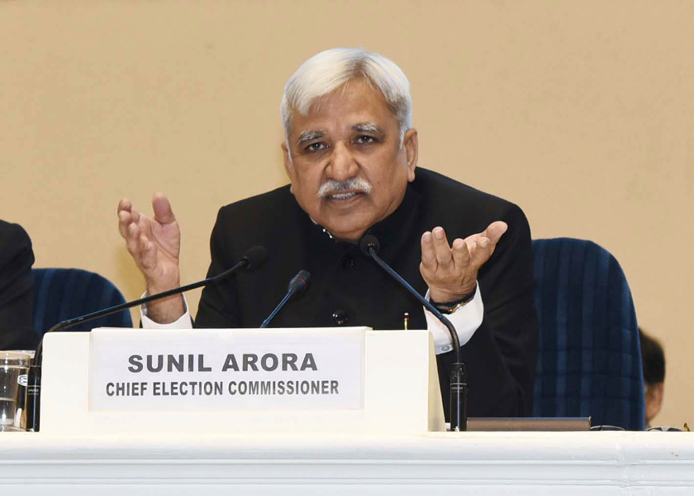 The EC led by Sunil Arora had to take action after coming under fire/Photo: UNI