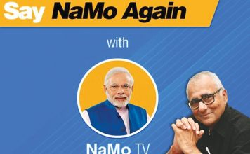 As the NaMo TV controversy raged, the BJP admitted that it was a part of a party-financed media blitzkrieg