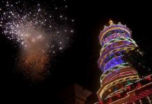 Displaying of fireworks is an integral part of the festival which is held at the famous Vadakkunnathan temple in Thrissur/Photos: keralaphotos.in