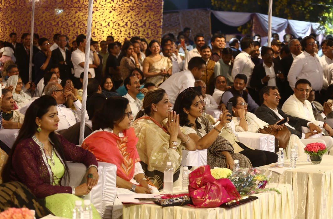 With loads of entertainment, the audience at the final round had a great time