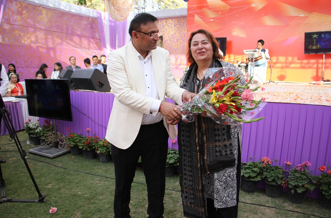 Pradeep Rai with senior advocate and Additional Solicitor General Pinky Anand