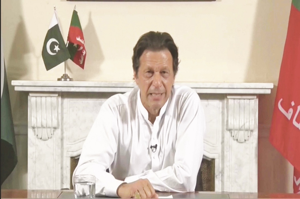 Pakistan Prime Minister Imran Khan/Photo: UNI