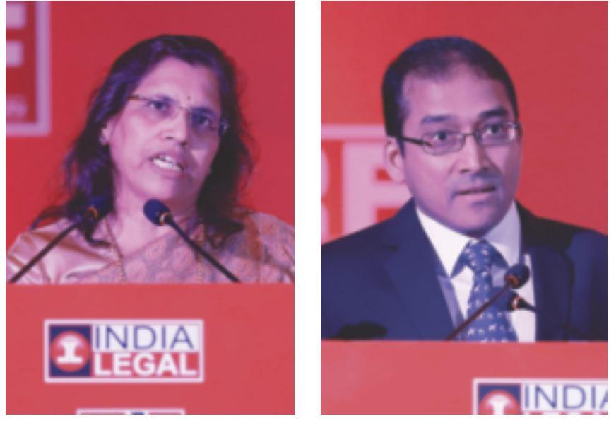 Mukulita Vijayawargiya (IBBI) and advocate Som Sekhar Sundaresan raising important points in the Session