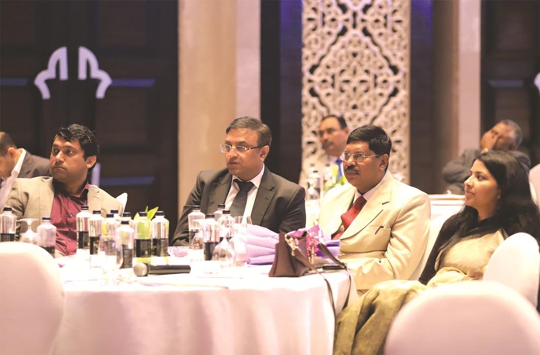 (L-R) Pradeep Rai, senior executive member, SCBA, Justice BR Gavai (centre) and Rajshri Rai