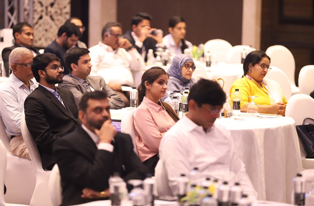 Astor Ballroom, the venue of the Conclave, was chock-a-block with people interested in IBC