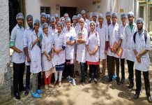 "Pharm D candidates at the Guru Nanak Institute of Pharmaceutical Science & Technology, Kolkata; they can prefix ""Dr""/Photo: gnipst-pc.ac.in"