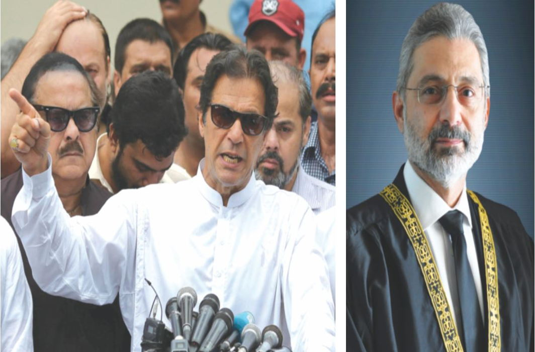 The Imran Khan government moved a case against Justice Qazi Faez Isa of the Pakistan SC for concealing his overseas properties/Photo: UNI