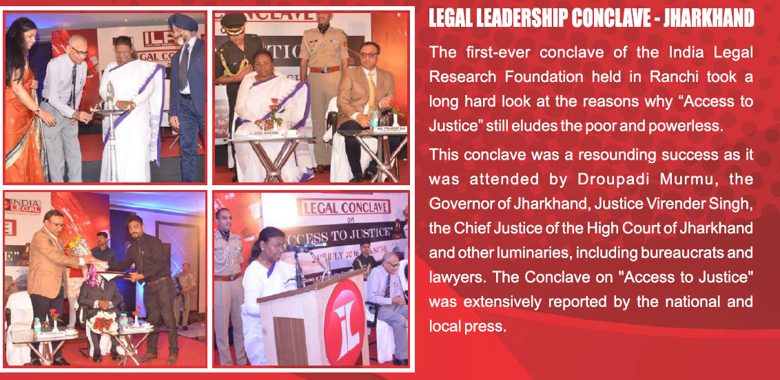 India Legal Conclave - Jharkhand