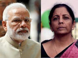 Narendra Modi & Nirmala Sitharaman