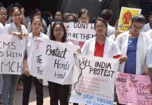 Doctors in several parts of India resorted to strikes and held protests in support of their counterparts in Kolkata/Photo: UNI