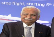 Jet Airways founder Naresh Goyal