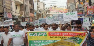 Road Show for Raising Awareness about Single-Use Plastic Pollution