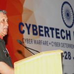 Army chief General Bipin Rawat addressing a seminar on cyber security in New Delhi/Photo: UNI
