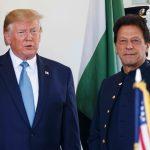 US President Donald Trump with Pak Prime Minister Imran Khan at the White House/Photo: UNI