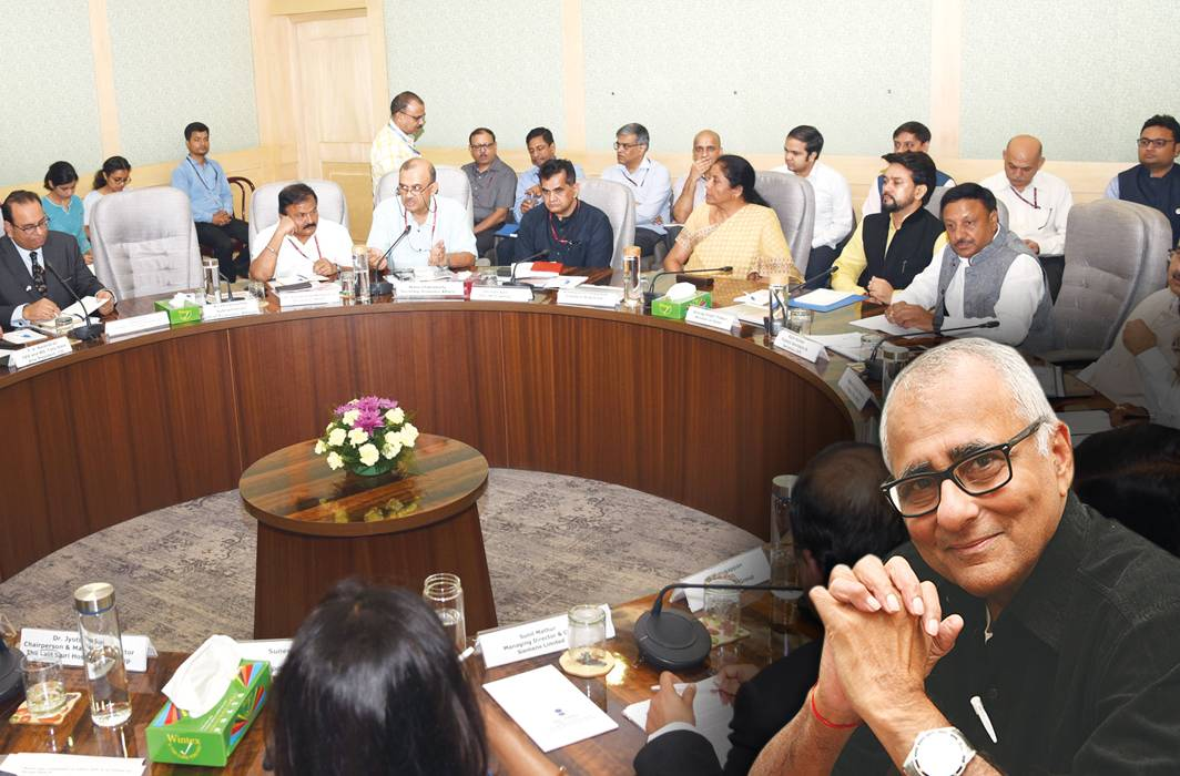 In their meeting with Finance Minister Nirmala Sitharaman on August 8, India Inc sought several measures to revive the economy and stimulate growth after a five-year low of 5.8 percent/Photo: PIB