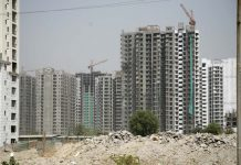 Under-construction flats are a common sight, with many projects facing huge delays/Photo: Anil Shakya