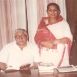 Saraswati Thakur with her husband DD Thakur (file picture)