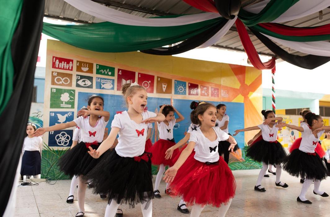 Happiness and tolerance were the dominant themes at a school function in Dubai this February. The programme was organised under the UNESCO Associated Schools Project in the UAE/Photo: Twitter