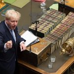 British PM Boris Johnson in the House of Commons/Photo: UNI
