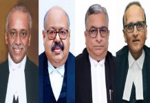 Four New SC Judges To Be Sworn on Monday