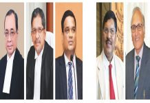The five Justices of the Supreme Court, who recused themselves from the Gautam Navalakha bail case, include Chief Justice of India Ranjan Gogoi, Justices NV Ramana, R Subhash Reddy, BR Gavai and S Ravindra Bhat
