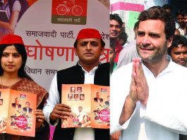 It looks like that the SP-Congress alliance, with its eye on capturing the Muslim vote, would push the BJP to try for the consolidation of the so-called Hindus cutting across caste, making it into a Hindu-Muslim divide.