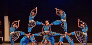 AT THEIR FLEXIBLE BEST: A Gudi Padwa performance by Konark Natya Mandap at Guru Gopinath National Dance Festival in Thiruvananthapuram on February 8, UNI