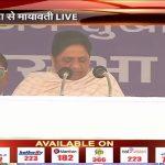 BSP Chief Mayawati addressing public rally in Etah UttarPradesh