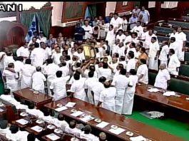 Pandemonium in Tamil Nadu assembly