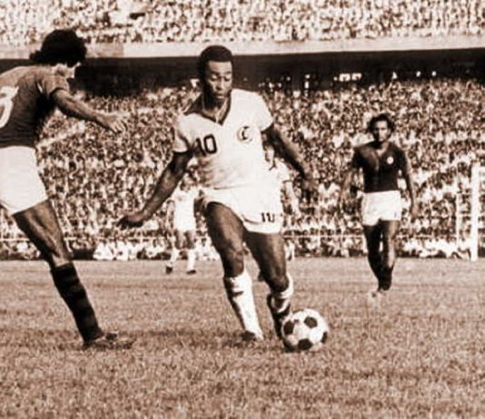 A moment from one of Shibaji's historic games caught on camera