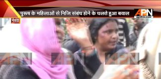 A high voltage drama played out in Meerut