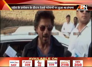 Shah Rukh booked for rioting and damaging railway property