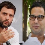 Many believe that the responsibility for the Congress debacle in UP should jointly be shouldered by party vice-president Rahul Gandhi (left) and Prashant Kishor, the campaign strategist
