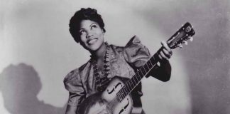 Saluting the mother of rock 'n' roll