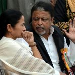West Bengal CM Mamata Banerjee and TMC leader Mukul Roy, UNI