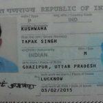 Passport of the deceased