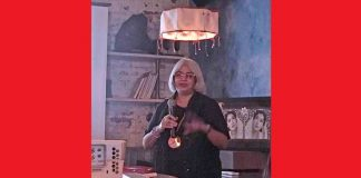 Kanchan Chander speaks at the event