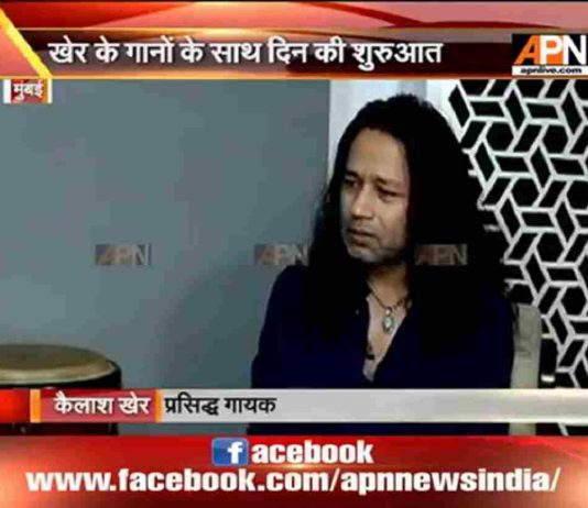 Kailash Kher shares success story